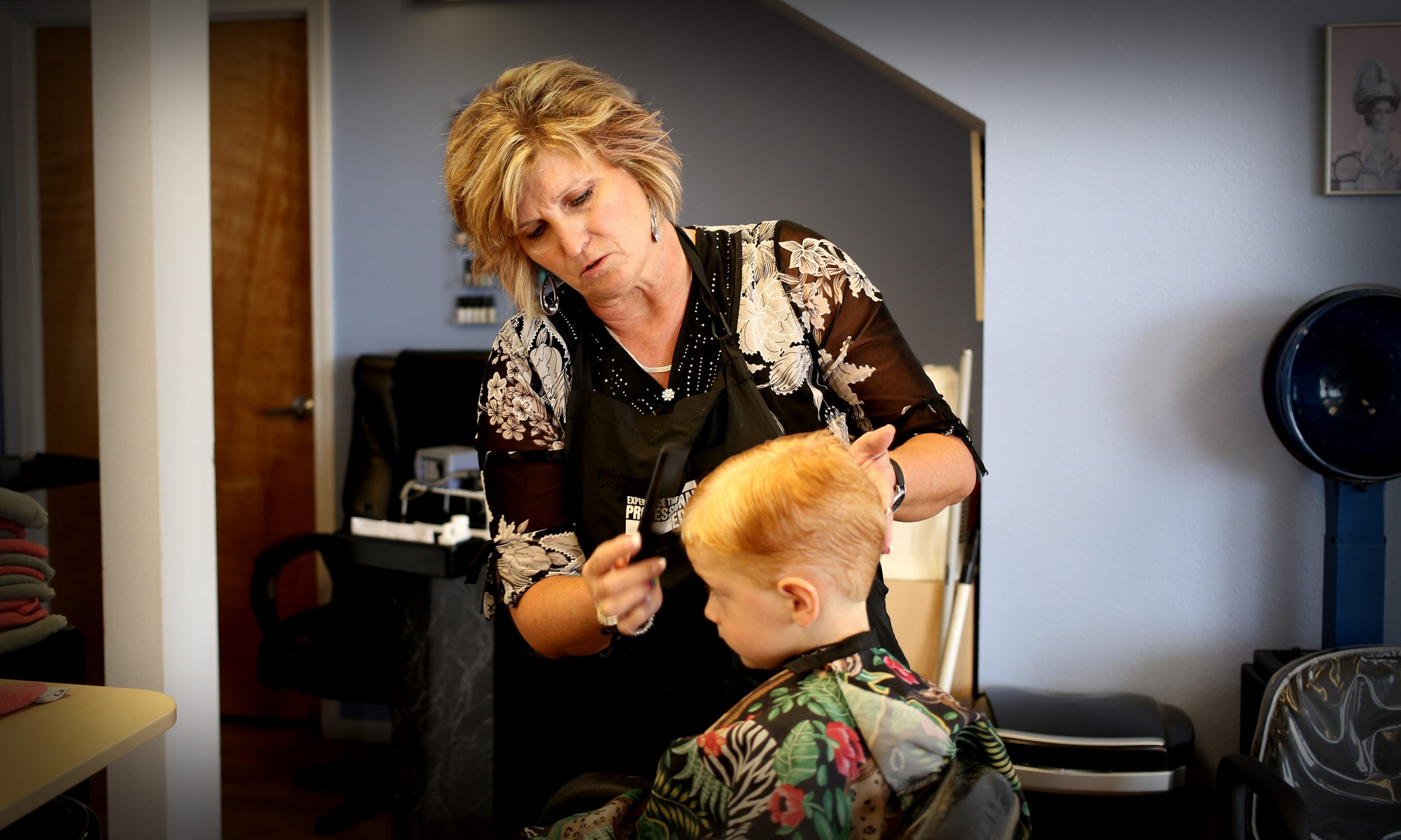 Young Client – Grand Junction Hair Salon